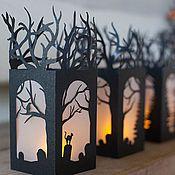 Подарки к праздникам ручной работы. Ярмарка Мастеров - ручная работа Фонарик  Хэллоуин. Handmade.