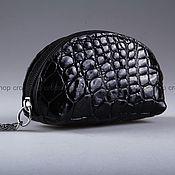 Сумки и аксессуары handmade. Livemaster - original item Crocodile skin coin holder A0065B55. Handmade.