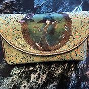 Фен-шуй и эзотерика handmade. Livemaster - original item Spectacular clutch bag for Tarot, Oracle.. Handmade.