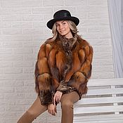 Одежда handmade. Livemaster - original item The coat of Fox
