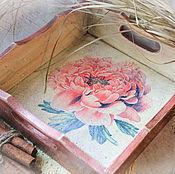Для дома и интерьера handmade. Livemaster - original item The tray-stand