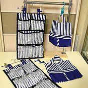 Кармашки в детский сад ручной работы. Ярмарка Мастеров - ручная работа Органайзер + сумочка. Handmade.