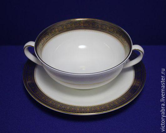 Винтажная посуда. Ярмарка Мастеров - ручная работа. Купить Коллекционный комплект Royal Doulton. Handmade. Комбинированный, дизайн rochelle