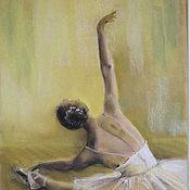 Открытки handmade. Livemaster - original item Ballerina Postcard. Handmade.
