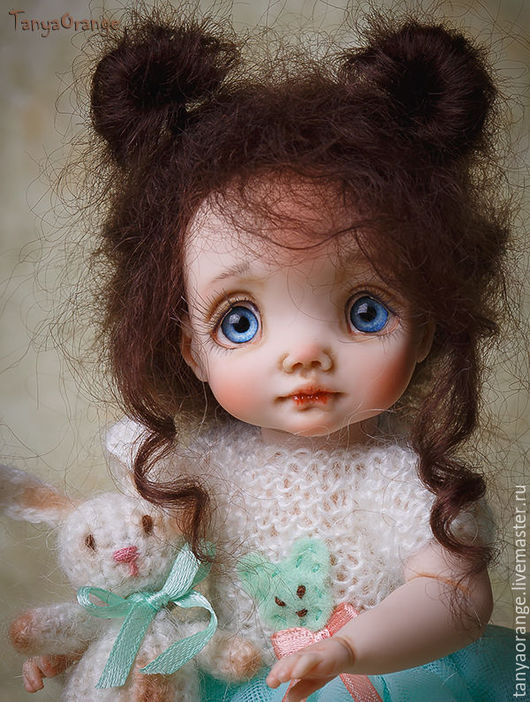 Коллекционные куклы ручной работы. Ярмарка Мастеров - ручная работа. Купить Vanessa. Handmade. Малышка, авторская ручная работа, миниатюра
