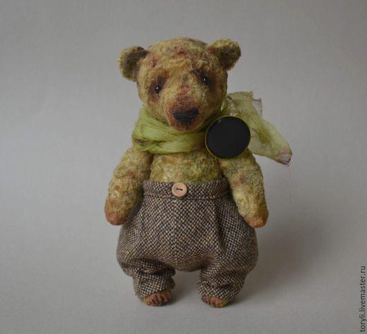 Мишки Тедди ручной работы. Ярмарка Мастеров - ручная работа. Купить Мишка тедди Форест Вотч (Forest Watch). Handmade.