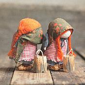 """Куклы и игрушки ручной работы. Ярмарка Мастеров - ручная работа Куклы-образы"""" ...где же всё-таки больше звёзд?"""". Handmade."""