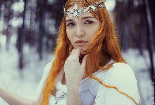 Диадема венец тиара корона, эльфийские украшения, эльфийская диадема, Глорфин