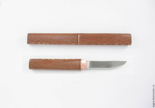 """Украшения для сумок ручной работы. Ярмарка Мастеров - ручная работа. Купить нож сумочник """"Пёстрый Л"""". Handmade. Нож, самооборона"""