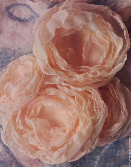 Заколки ручной работы. Ярмарка Мастеров - ручная работа. Купить Розы в прическу. Handmade. Розовый, розочки, розы, шебби-шик