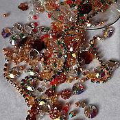 Материалы для творчества handmade. Livemaster - original item A set of beads and rhinestones for the BM icon