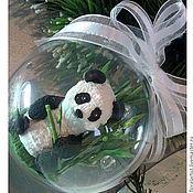 """Подарки к праздникам ручной работы. Ярмарка Мастеров - ручная работа шар """"Панда"""". Handmade."""
