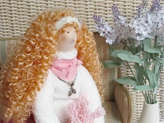 Куклы Тильды ручной работы. Ярмарка Мастеров - ручная работа. Купить Милена Кукла в стиле Тильда. Handmade. Розовый
