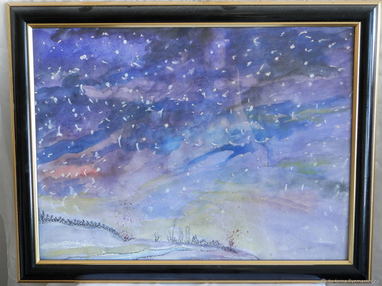 Зимний вечер, Картины, Москва,  Фото №1