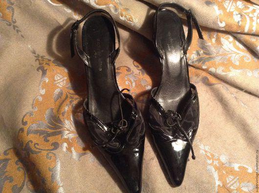 Винтажная обувь. Ярмарка Мастеров - ручная работа. Купить Туфли stephane kelian , Франция,новые, оригинал. Handmade. Черный