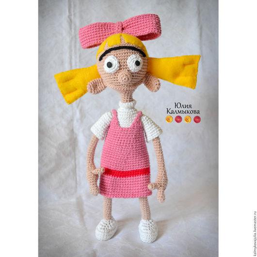 """Человечки ручной работы. Ярмарка Мастеров - ручная работа. Купить Вязаная кукла """"Хельга Патаки"""". Handmade. Комбинированный, авторская кукла"""