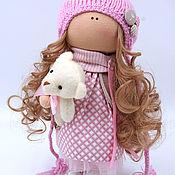 Куклы и игрушки ручной работы. Ярмарка Мастеров - ручная работа Куколка интерьерная Эйприл. Handmade.