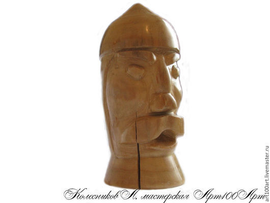 """Подарки для мужчин, ручной работы. Ярмарка Мастеров - ручная работа. Купить Фигурка деревянная """"Воин"""". Handmade. Воин, подарок"""