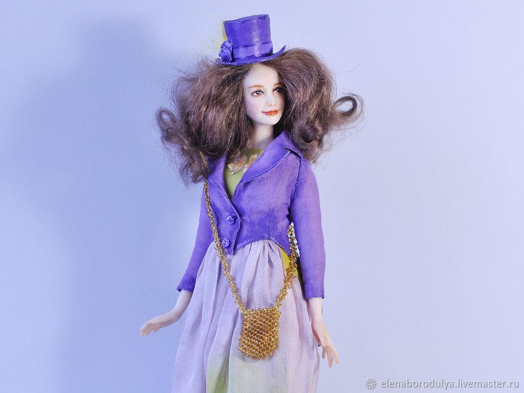 Коллекционная кукла ручной работы  Мадемуазель, Куклы, Пенза, Фото №1