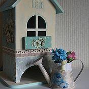 """Для дома и интерьера ручной работы. Ярмарка Мастеров - ручная работа """"Летний ситец"""" - чайный домик. Handmade."""