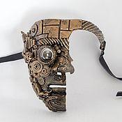 Субкультуры ручной работы. Ярмарка Мастеров - ручная работа Маска на половину лица стимпанк. Handmade.