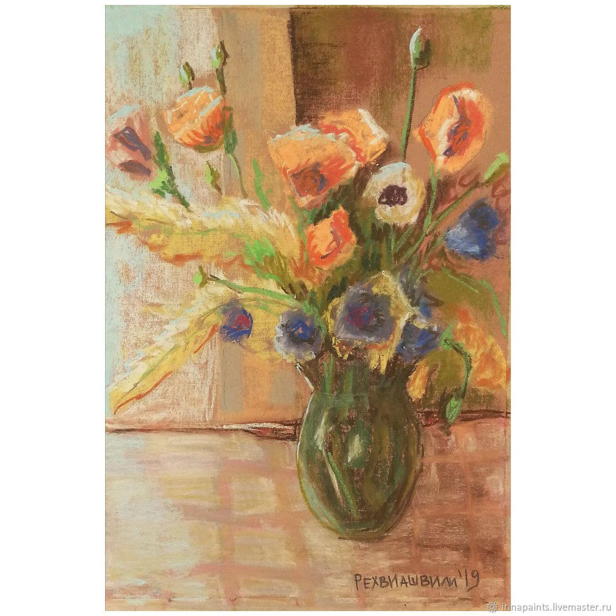 Зеленая ваза, Картины, Москва,  Фото №1