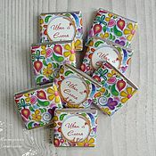 """Свадебный салон ручной работы. Ярмарка Мастеров - ручная работа Свадебный шоколад """"День цветов"""". Handmade."""