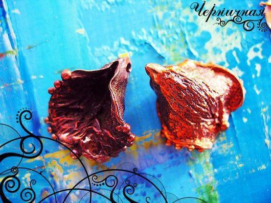 Для украшений ручной работы. Ярмарка Мастеров - ручная работа. Купить Вальс цветов 0816-150 (1). Handmade. Коричневый