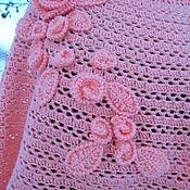 Одежда handmade. Livemaster - original item jumper Peach pearls. Handmade.