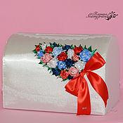 Свадебный салон ручной работы. Ярмарка Мастеров - ручная работа Казна для денег в Красно-Сине-Белом цвете. Handmade.