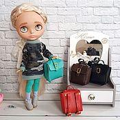 Одежда для кукол ручной работы. Ярмарка Мастеров - ручная работа Сумка - рюкзак для куклы. Handmade.
