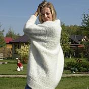 Одежда handmade. Livemaster - original item White cardigan first Lady. Handmade.