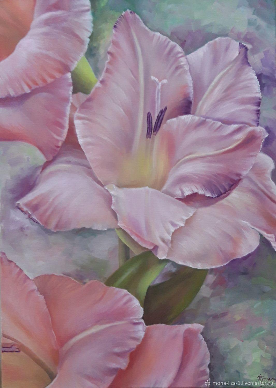 """Картина """"Королевская лилия"""" картина маслом с цветами, Картины, Анапа,  Фото №1"""