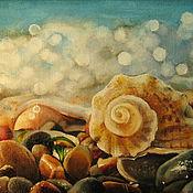 Картины и панно ручной работы. Ярмарка Мастеров - ручная работа Картина маслом. Морской мотив. Handmade.