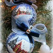 Подарки к праздникам ручной работы. Ярмарка Мастеров - ручная работа Шарики Волшебный вечер. Handmade.