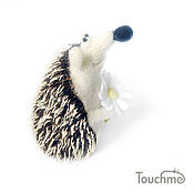 Куклы и игрушки handmade. Livemaster - original item Hedgehog with Camomile. Handmade.