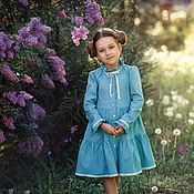 Одежда handmade. Livemaster - original item Dress linen