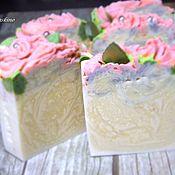 Косметика ручной работы. Ярмарка Мастеров - ручная работа ЭДЕМ, натуральное мыло с нуля, подарок девушке, женщине. Handmade.