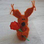 Куклы и игрушки ручной работы. Ярмарка Мастеров - ручная работа маленький Лис. Handmade.