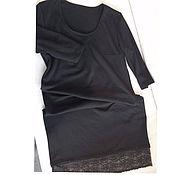 Одежда ручной работы. Ярмарка Мастеров - ручная работа Платьеце MastHave. Маленькое черное платье. Трикотаж. Handmade.