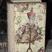 """Для дома и интерьера ручной работы. Ярмарка Мастеров - ручная работа """"Ретро-манекен"""" Шкатулка-книга. Handmade."""
