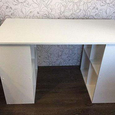 Для дома и интерьера ручной работы. Ярмарка Мастеров - ручная работа Рабочий стол-стеллаж. Handmade.
