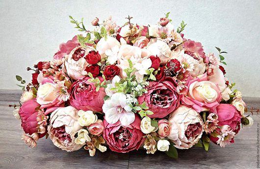 Свадебные цветы ручной работы. Ярмарка Мастеров - ручная работа. Купить Магия цвета. Handmade. Комбинированный, декор свадьбы