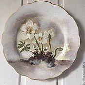 Посуда ручной работы. Ярмарка Мастеров - ручная работа Настенная тарелка Мона Cвард  №3. Handmade.