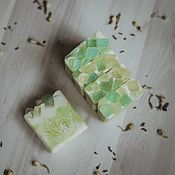 Мыло ручной работы. Ярмарка Мастеров - ручная работа Мыло: Зеленый чай2. Handmade.