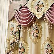 handmade. Livemaster - original item Fabric for curtains, jacquard. L`Italiano. Handmade.