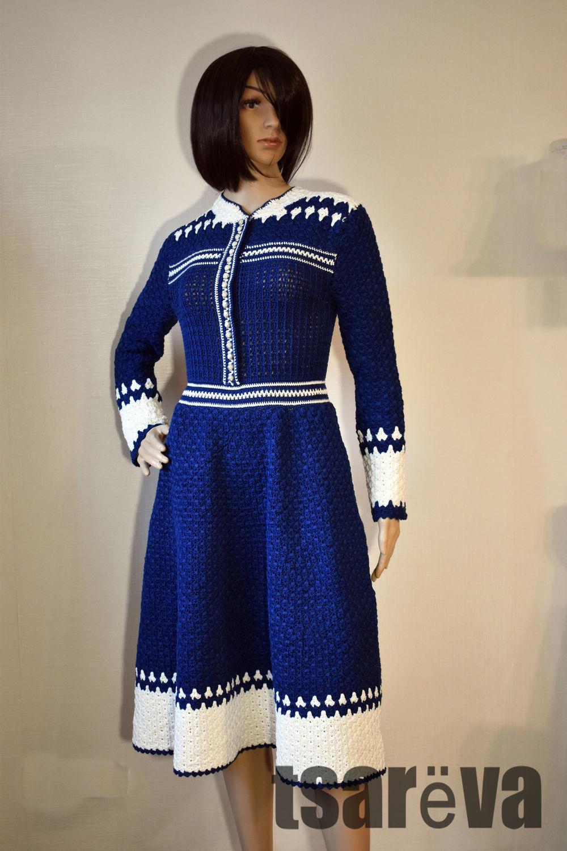 Crochet dress Marysol. Handmade women classic crochet dress, Dresses, Odessa,  Фото №1