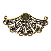 Материалы для творчества handmade. Livemaster - original item Filigree bronze 3 form. Handmade.