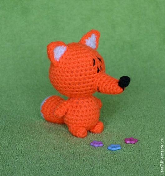 Игрушки животные, ручной работы. Ярмарка Мастеров - ручная работа. Купить Лисичка. Вязаная игрушка. (Амигуруми. Вязаная лисичка. Мягкая игрушка.. Handmade.