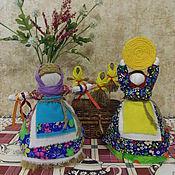 """Куклы и игрушки ручной работы. Ярмарка Мастеров - ручная работа """"Домашняя Масленица"""". Оберег. Handmade."""